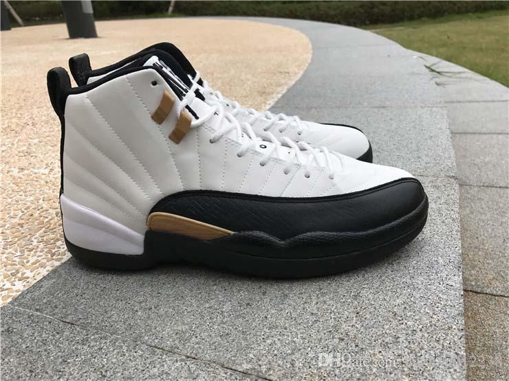 best authentic 2eac6 a521e ... 2017 Retro 12 Chinese New Year Mens Basketball Shoes Retro Sneakers  Sport Shoes Cheap 12 Gs ...