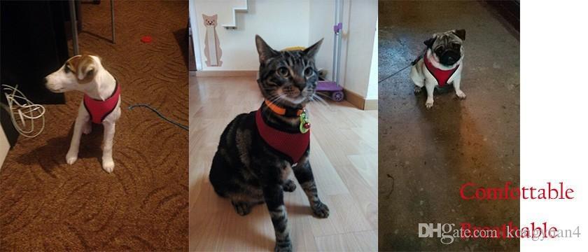 Mode sommer Hund Weste Weiche Luft Nylon Mesh Pet Harness Hundebekleidung Hundegeschirr kleidung für haustier doggy schutz liefert