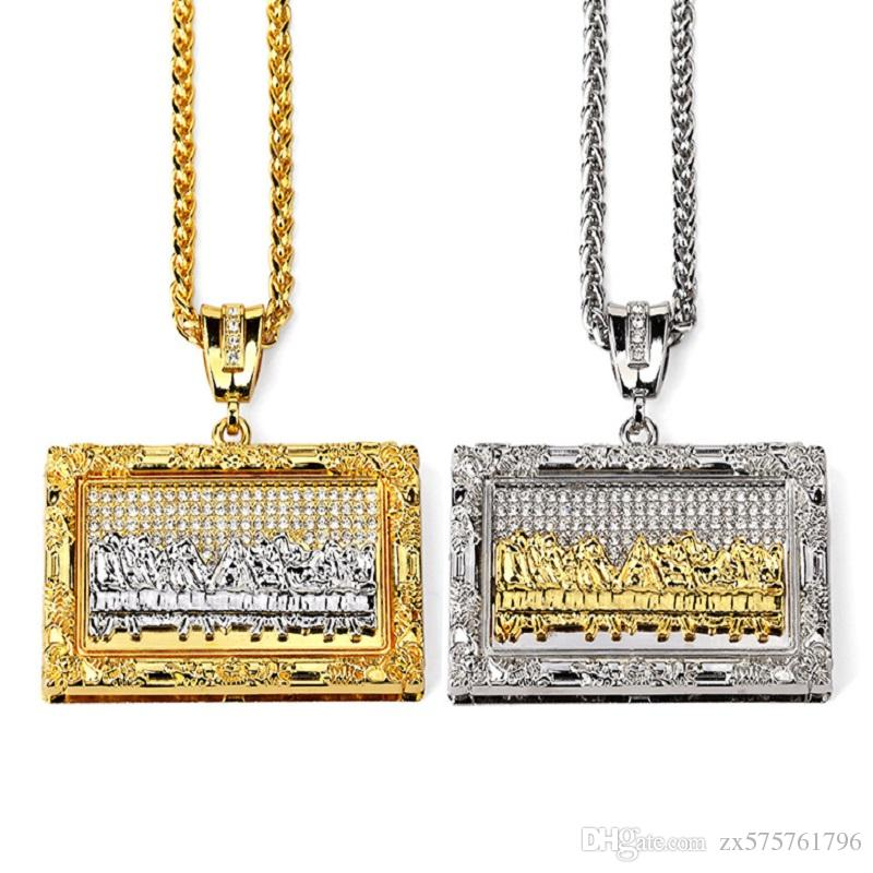 Wholesale fashion designer big pendants necklace male charms design wholesale fashion designer big pendants necklace male charms design long chains filling pieces mens hip hop rock jewelry necklaces for men picture pendant mozeypictures Choice Image