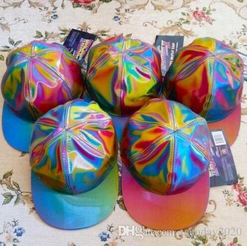 New Fashion Coloful Caps Bigbang G-dragon Color Changing Snapback BACK TO  THE FUTURE Cap MARTY MCFLY Hats