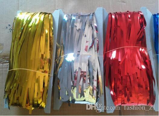 Metallic Foil Fringe Door Rain Curtains Party Christmas Wedding Photo Booth Props Marriage Gathering Backdrop Decorations Party Theme Party Theme Decoration ... & Metallic Foil Fringe Door Rain Curtains Party Christmas Wedding ...