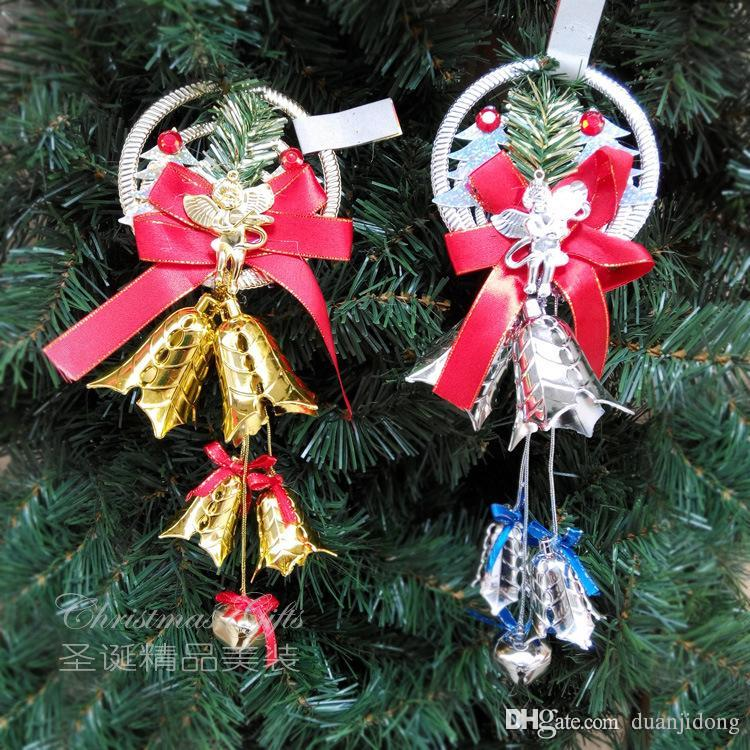 christmas decorations plastic bells christmas supplies angel pendant personality fashion and beauty discount outdoor christmas decorations elegant