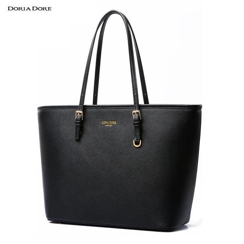 c028314a7b1 Wholesale- China Famous Brand Casual Tote Handbag Shoulder Bag Luxury  Handbags Women Bags Designer PU Leather Top-handle Bags borse #o188