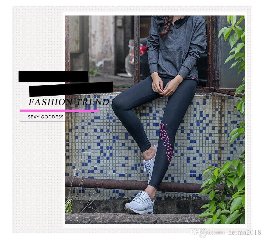 Spring and Autumn Leisure Night Run Sports Pants Girls Outdoor Fitness Pants Yoga Quick Dry Stretch Tights