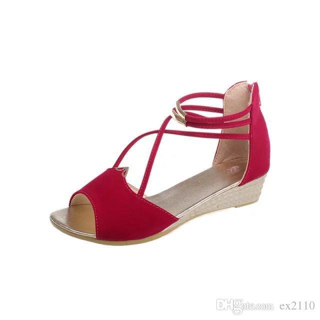 Panami sandalias de tela suave YW-4 cDjjoUpU