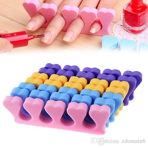 Fashion Toe Separator Soft Foam Nail Art Salon Pedicure Manicure