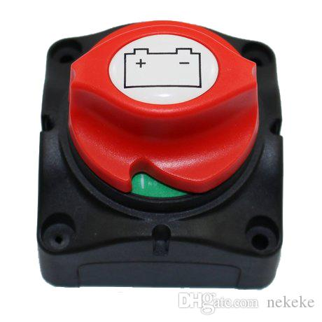 Car Boat Truck Marine Removable Knob Battery Master Isolator Cut Off Power Kill Switch Yacht Switch DC 12V 24V 48V To 60V 400A