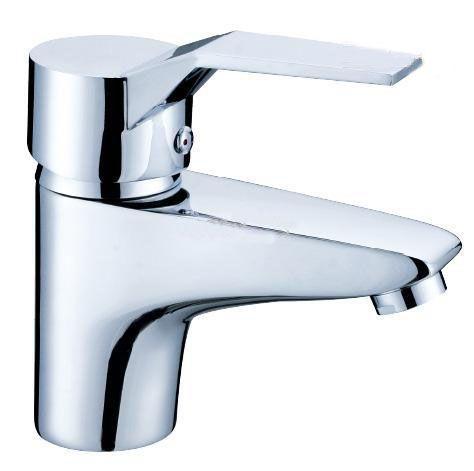 BLL Modern Chrome Bathroom Basin Brass Faucet Single Handle Fregadero Mixer Tap Montado NY01211