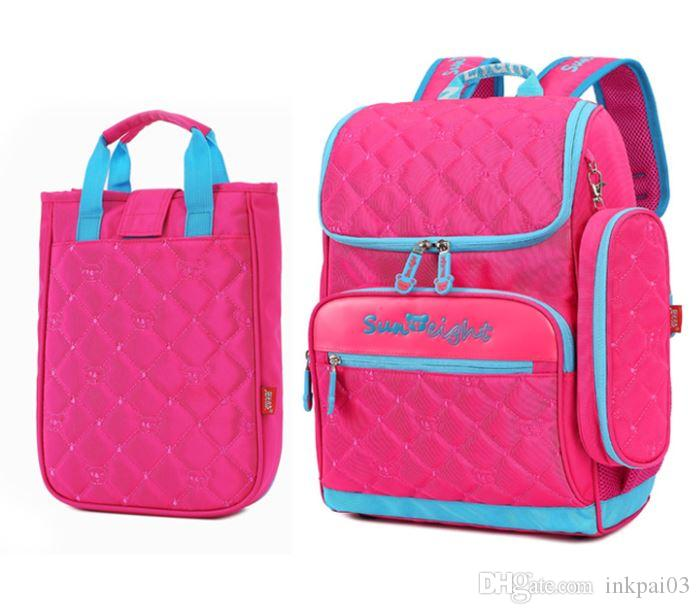 9f6f2f7e1dea SUN 8  2311 backpack+handbag+pen box 3 pcs set for 2T-12 Years old kids.Nylon  and Polyester material