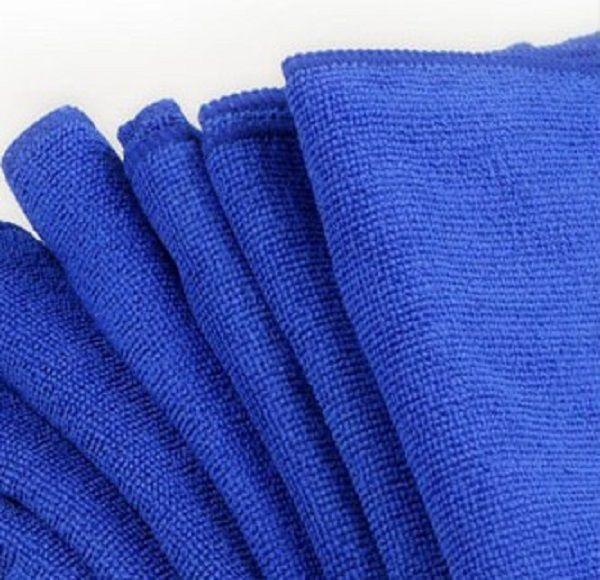 منشفة 30x30cm الأزرق لينة ستوكات تنظيف لغسل السيارات القماش السيارات ساحة الرعاية المنزلية حمام مطبخ Detergency المناشف WA1606