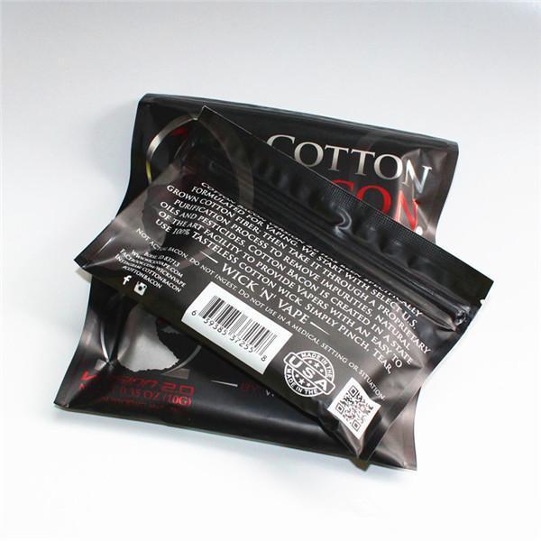 COTONE BACON 2.0 Clone 100% Puro Cotone Pancetta DIY RDA RBA Atomizzatori E Sigarette Vaporizzatori In Magazzino Spedizione Gratuita