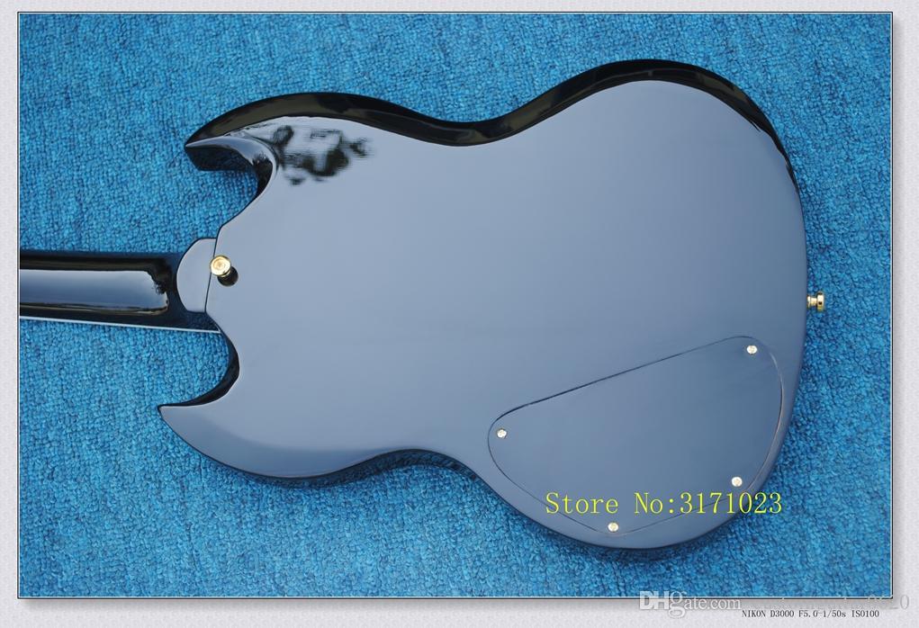 Melhor preto SG guitarra Custom Shop sg400 captador de guitarra elétrica 3 da China nova chegada HOT guitarras