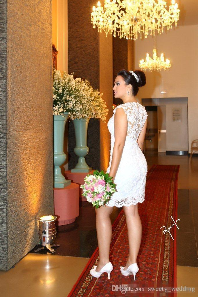 2017 Vintage Ball Gown Wedding Dresses High Neck Sleeveless Long Bridal Gowns Removable Skirt 2 in 1 Style robe de mariage