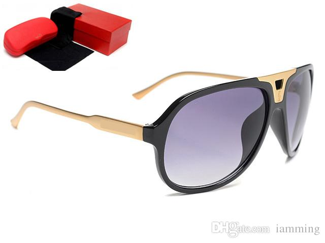10d3f463c918 Hot Sale Italian Designer Bling Style Hollow Frame Round Sunglasses Fashion  Women Design Leopard Logo UV400 Lens With Red Box Cheap Sunglasses Mens ...