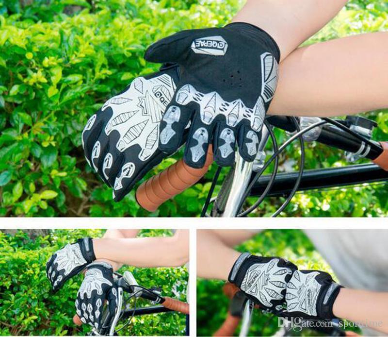 새로운 스타일 야간 반사는 승마 장갑을 의미합니다 자전거 운동 남성 기계는 장갑을 나타냅니다
