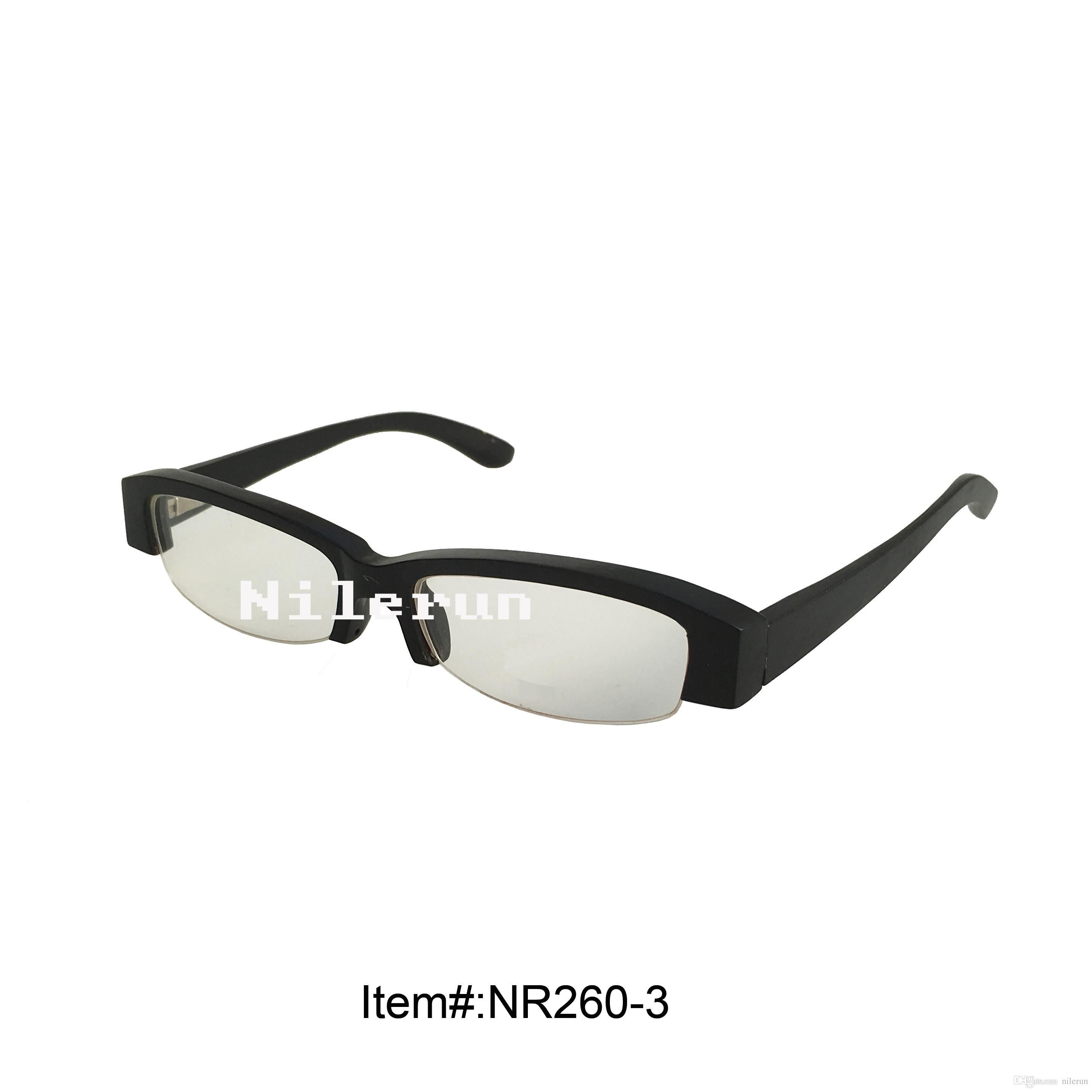 4129181e1c Small Black Wood Reading Glasses Half Frame Eyeglasses Black Reading  Glasses Reading Glasses Online with  52.46 Piece on Nilerun s Store