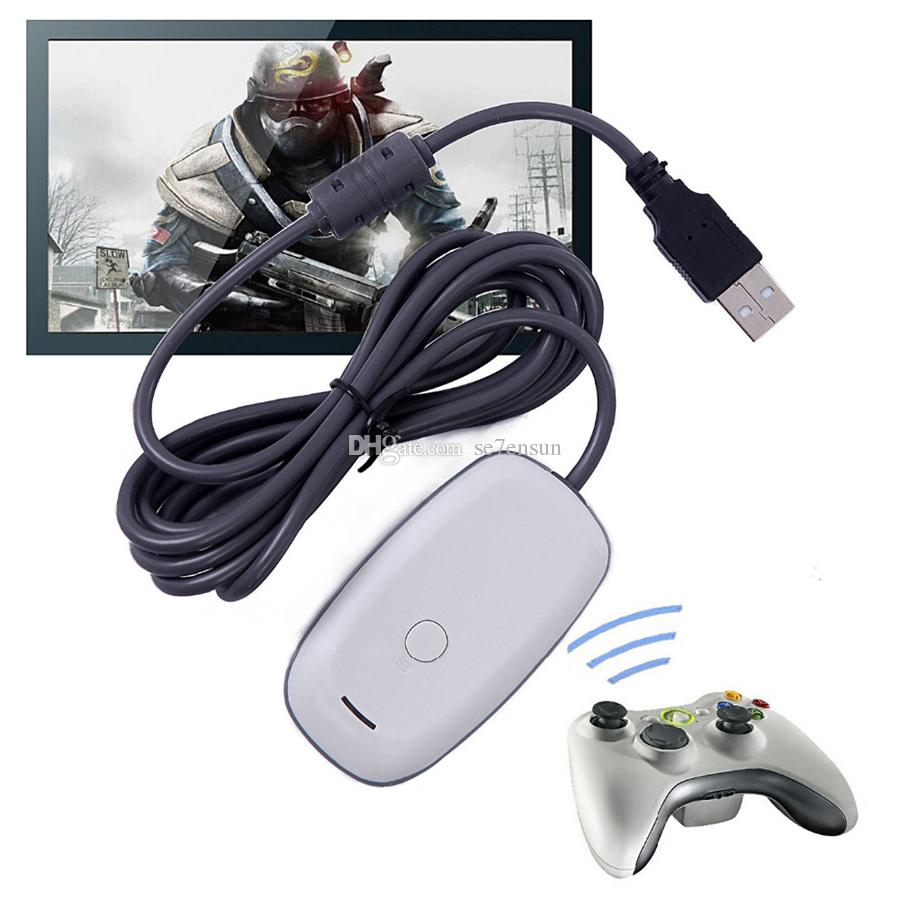 Pc Wireless Controller Gaming Usb Receiver Adapter For Microsoft ...