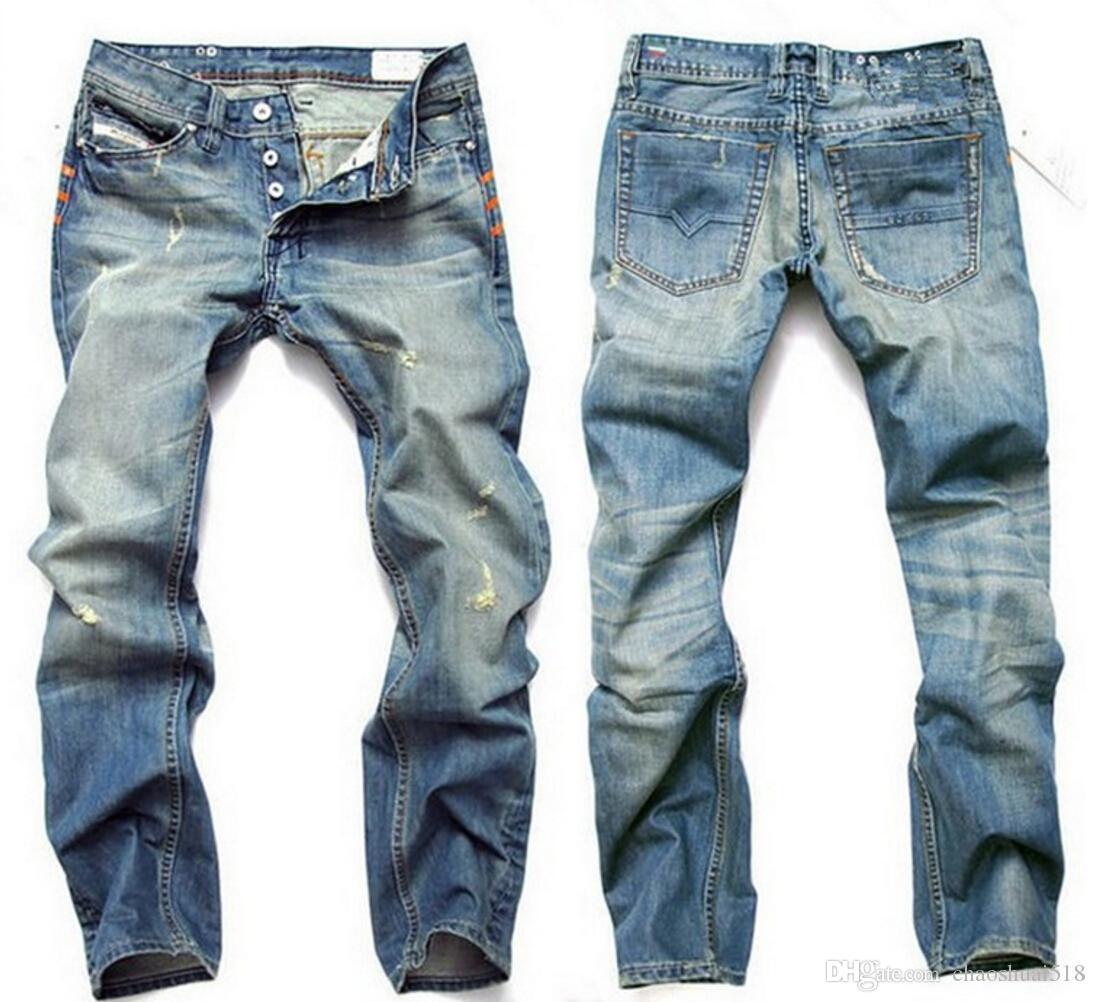 Best Quality Hot Sale ! 2018 Mens Jeans Men Famous Brand Fashion Denim JeansCotton Jeans Men ...