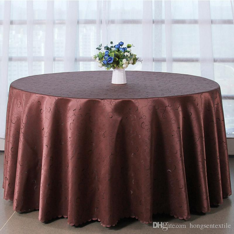 Table Cloth Table Cover Round For Banquet Wedding Party Decoration Tables  Satin Fabric Table Clothing Wedding Tablecloth Home Textile Damask  Tablecloths ...
