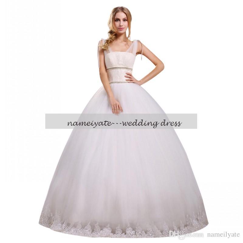 630e99bbe55 Cheap Mermaid Wedding Dress Pearl Back Discount Gold Tea Length Wedding  Dress