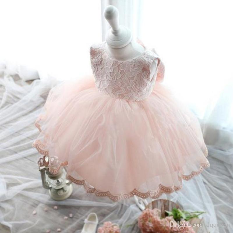 2017 Baby Kids Party Gown Design Pageant Wedding Dresses Infant ...