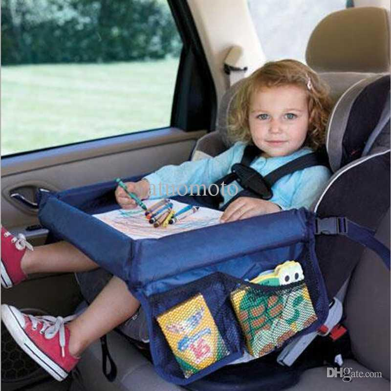 Wholesale-Safety Snack Car Seat Board Table for Kids Play Travel Tray Drawing Waterproof