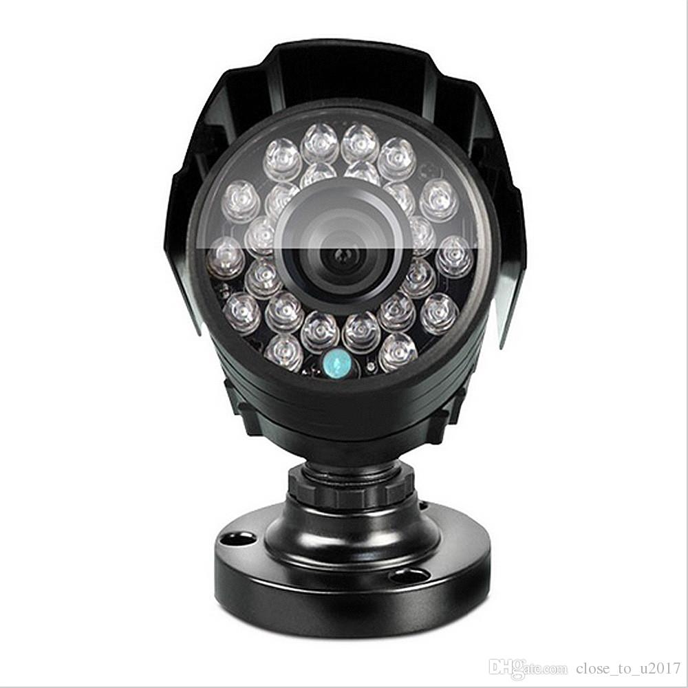 الأمن الأشعة تحت الحمراء نظام الكاميرا الدوائر التلفزيونية المغلقة 1200TVL CMOS اللون 24 LED للرؤية الليلية 20M كاميرا IR CCTV داخلي في الهواء الطلق كاميرا مضادة للماء