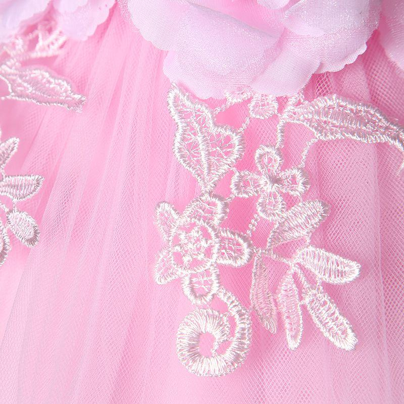 2017 nuevo vestido de niña con lentejuelas 7-24 m 1 año Vestidos de cumpleaños para niñas Vestido es fiesta de cumpleaños vestido de princesa