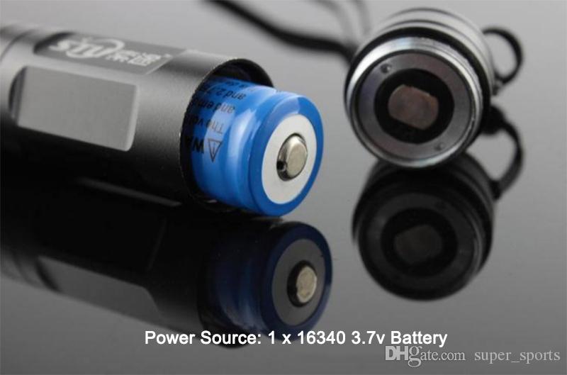 JD-851 Green Laser Pointer Pen 532nm high Power Lazer pen + Star Cap Vusiable Beam 1000-8000m