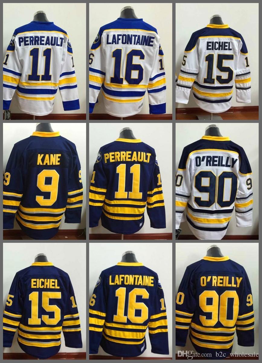 e16280e2d22 ... Buffalo Sabres Jersey 15 Jack Eichel 9 Evander Kane 11 Gilbert  Perreault 16 Pat Lafontaine 90 ...