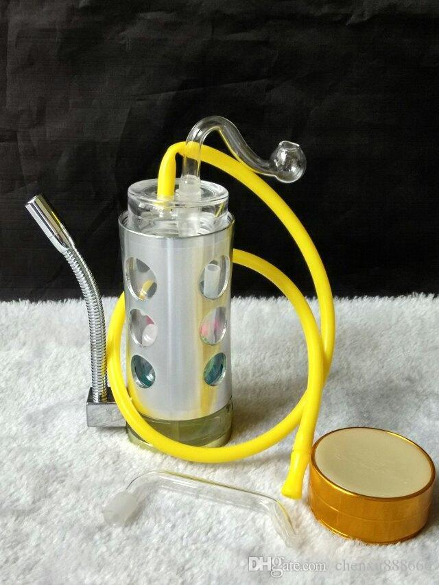 Wholesale Smoking - new comes inflatable flying fire wildfire alcohol lamp Aluminum Hookah Hookah