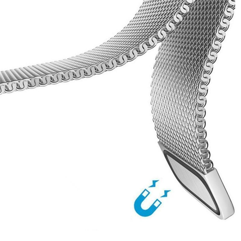Magnétique milanais boucle Bracelet Bracelet bracelet en acier inoxydable pour la marque Montre Hotsale Bracelet milanais VS Wristband Fitbit