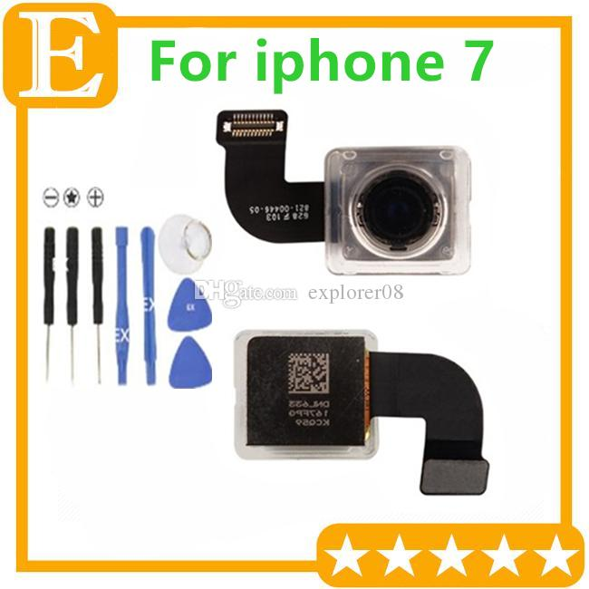 OEM Back Rear Camera Module Flex Cable Ribbon for iPhone 7 7G 4.7'' Big Rear Camera Flex Replacement Parts