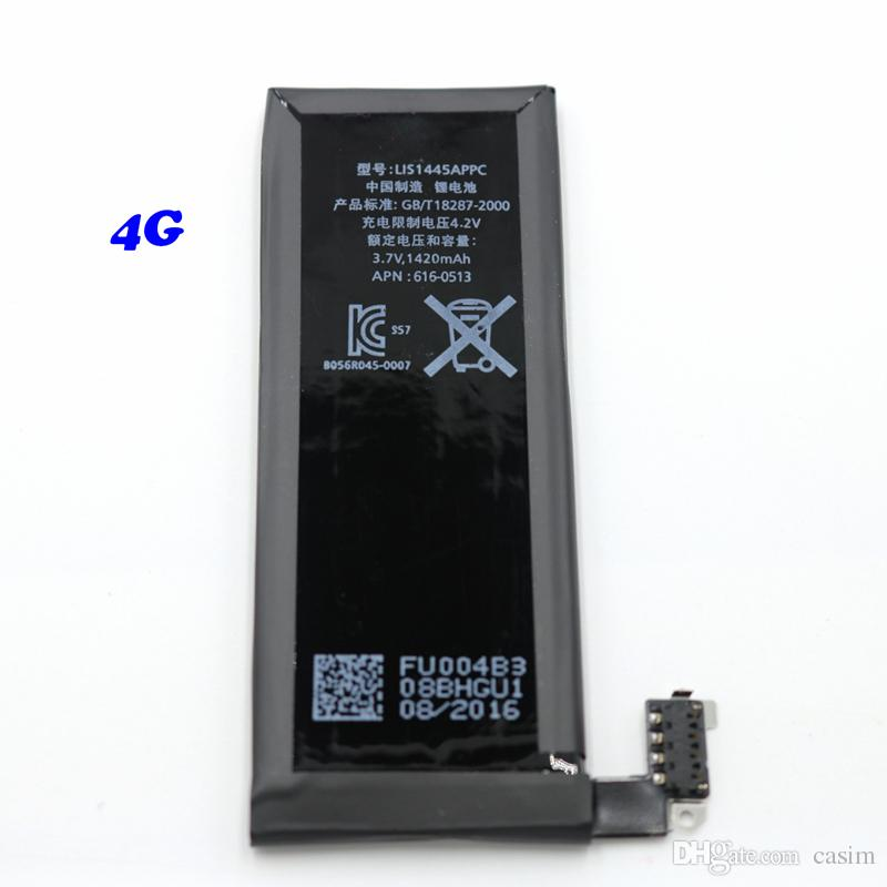 Top quality and Original New High Quality Built-in Li-ion Replacement battery iphone4g 4s 5g 5s 5c battery Akku Factory price