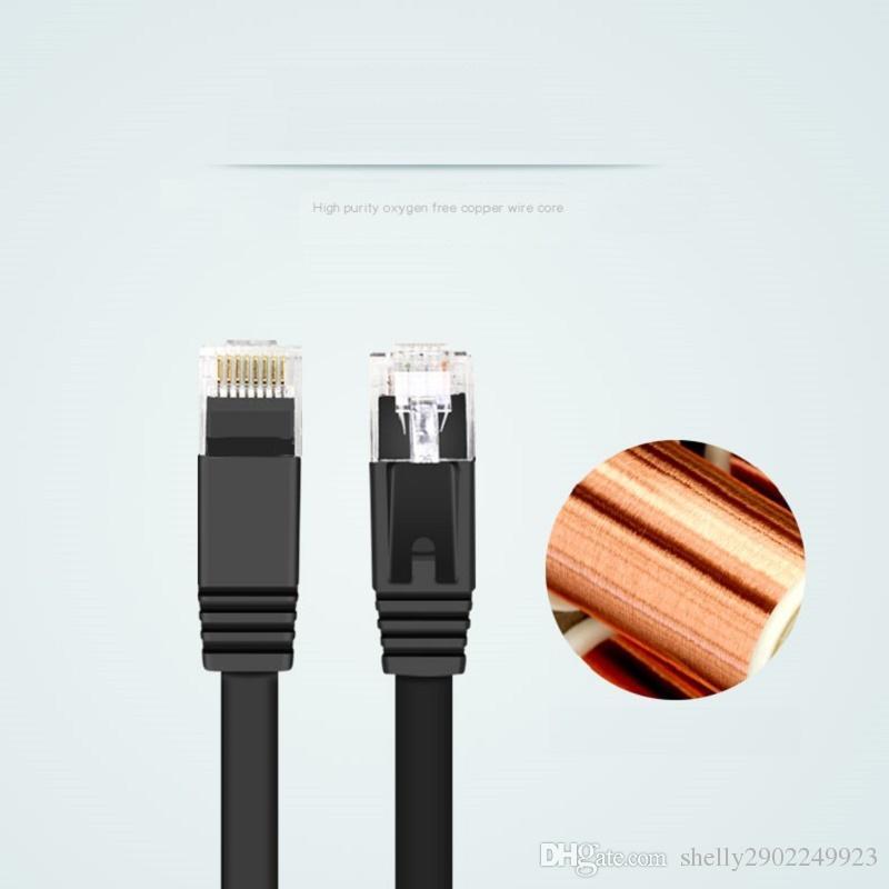 0.3m 1m 1.5m 2m 3m 5m 10m CAT 6 Flat UTP Ethernet Network Cable RJ45 Patch LAN cable BY dhl/fedex /ups