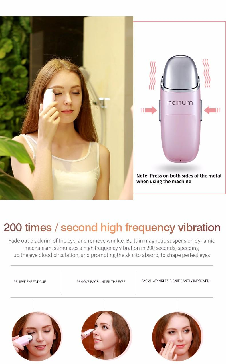 Mini Portable Atomizer Face Spray Facial Steamer Vibration Massager Nano Mister Sprayer SPA Sauna Nebulizer Beauty Hydrating Skin Care Tools