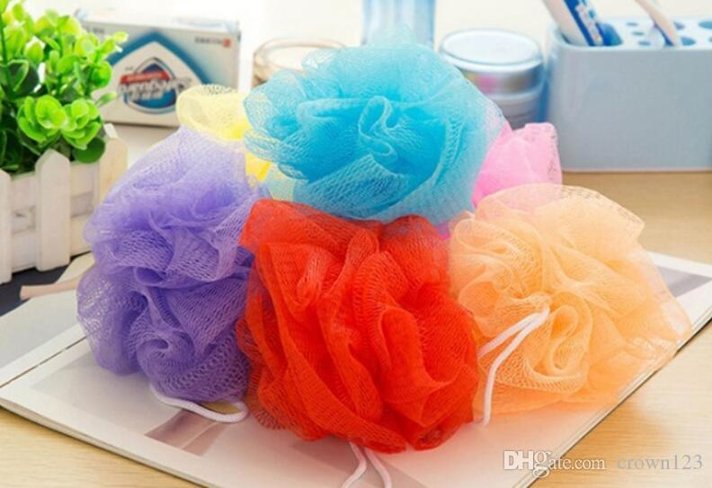 Bath Pouf Shower Sponge Exfoliating Cleanse Soothe Skin Loofah Luffa Cool Mini Loofah Poufs