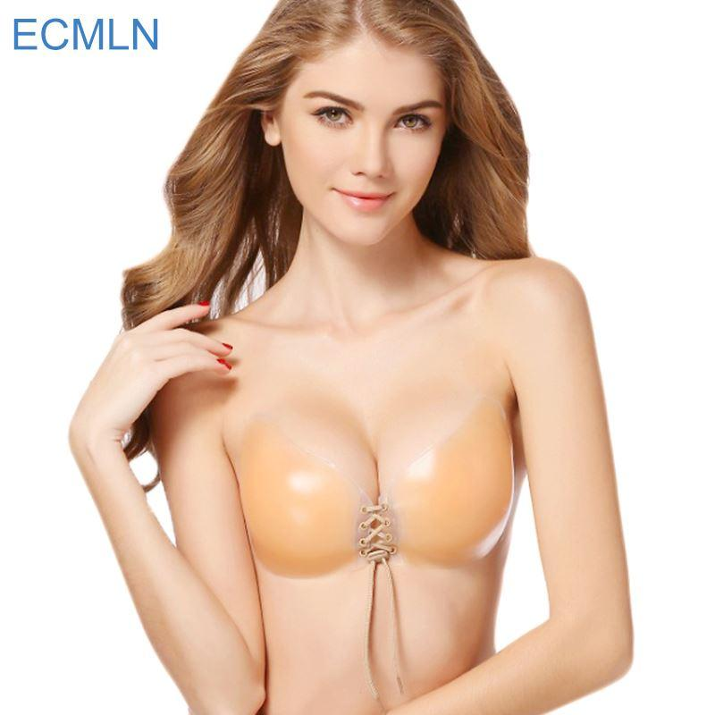 2b0d5348d7 2019 Sexy Super Push Up Bra Silicone Bralette Big Cup Backless Strapless  Bras Invisible Bras Women 2018 Wedding Bikini From Colin scot