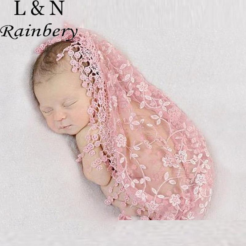 2018 wholesale rainbery newborn photography props for boy girls newborn crochet wrap baby blankets photography props clothing infant clothes from bradle