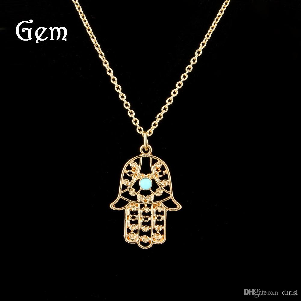 gold sabo thomas necklace glam image of plated hamsa women hand rose soul