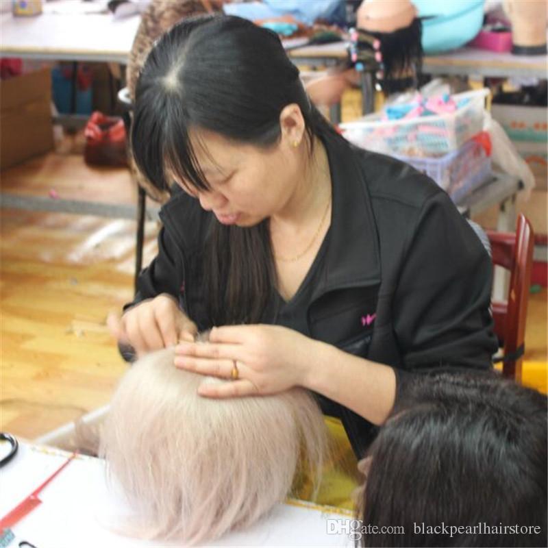 1 قطع خشبية مقبض الإبر هوك للنسيج الشعر جمبو الضفائر الشعر المهنية أدوات الشعر الباروكة