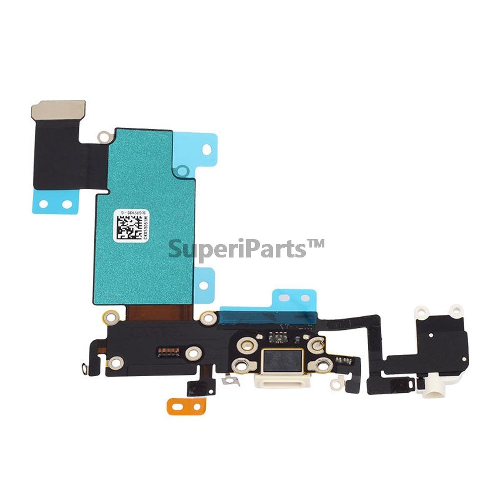 the latest a9f70 d8d62 For Iphone 6S Plus Charging Port Charger Dock Connector Flex Cable With  Headphone Audio Jack Tracking NO.