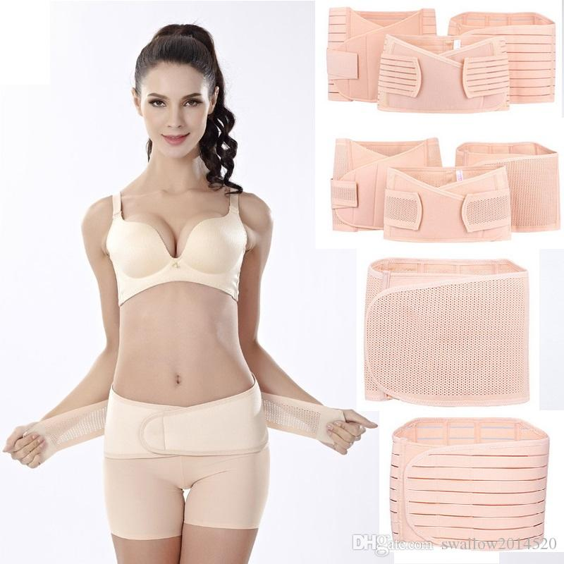 0dd1913320 2019 2017 New Women Postpartum Recovery Corset Belly Waist Pelvis Belt  Slimming Body Support Band 3 In 1 From Swallow2014520