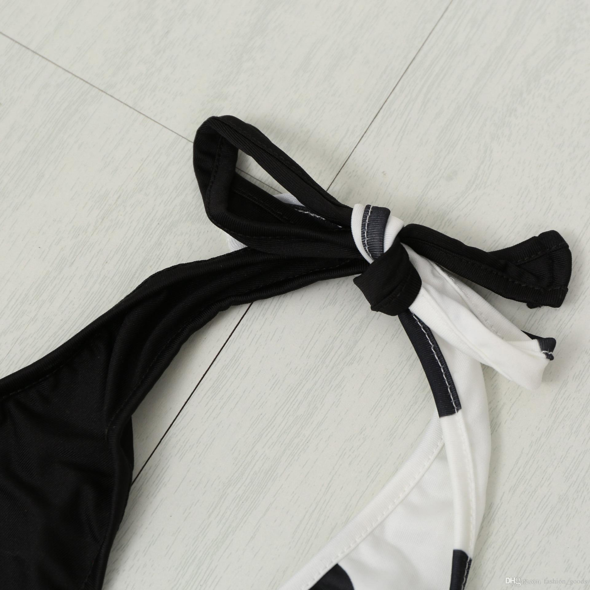 Buona A ++ Swimwear da donna sexy Wave Point Bikini Triangle Swimsuit NS011