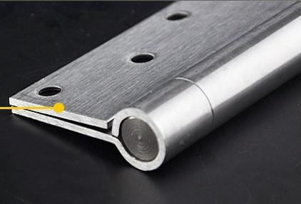 4 inch roestvrij staal automatische verborgen veerdeur scharnier sluiting snelheid verstelbaar 002-6