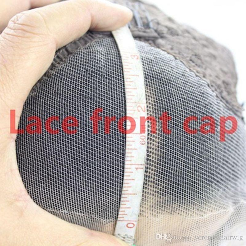 Alta qualità a buon mercato Ombre parrucche 1B / 27 # corto Bob ricci ondulati parrucche anteriori del merletto parrucche sintetiche resistenti al calore del merletto le donne nere