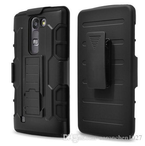 timeless design 2c887 3fbff For LG Stylus 2 Stylo 2 Plus Military Armor Anti-knock Hybrid Case Belt  Clip Heavy Duty Cover Case For LG Stylo 2 Plus With OPP Bag