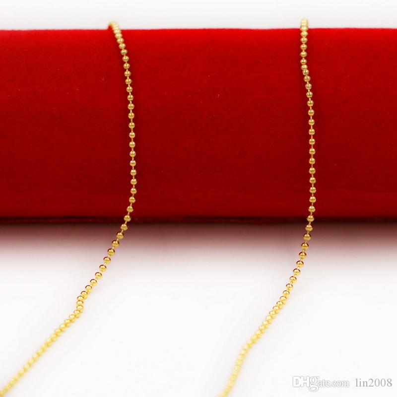 ماتي مشرق الخرز سلسلة قلادة الزفاف قلادة من الذهب مطلي ، 24k الذهب شغلها necklacefor 2014 النساء والمجوهرات