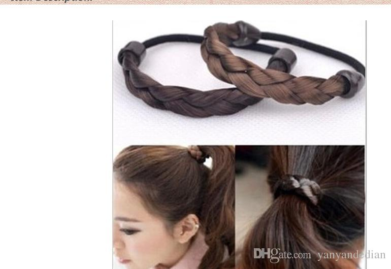2016 New Korean Style Rope Hair Band Accessories Elastic Hair Bands