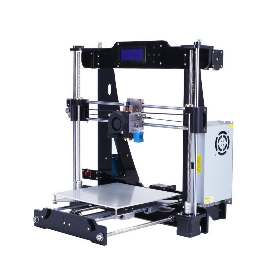 Stampante 3D Dual estrusore a due colori Auto livellamento RepRap Prusa i3 stampante 3D fai da te Kit ZONESTAR P802N o P802NR2